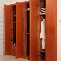 Wholesale Custom Wood Small Walk In Closet Organizers With 18mm Mdf Carcass With Racks from china suppliers
