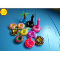 Wholesale Drink Holders Inflatable Water Floats Animal / Fruit Styles Floating Pool Inflatable from china suppliers