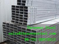 Buy cheap Painted Rectangular Steel Pipe Welded Large diameter thick from wholesalers