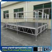 Wholesale Used portable RK aluminum 4ft x 4ft concert stage for sale from china suppliers
