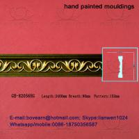 Wholesale Hand Painted PU Carved Cornices Moulding from china suppliers