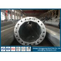 Wholesale HDG Q235 Circular Steel Utility Poles for Electrical Distribution Line ISO / CNAS / CA from china suppliers