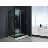 Buy cheap Monalisa M-8290 indoor tempered glass steam shower room European style steam room with shower luxury hotel villa resort from wholesalers