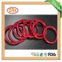Buy cheap Red Acid Resistance EPDM Customized O Rings Ageing Resistance For Chemical from wholesalers