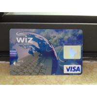Wholesale New VISA Classic Card / Plastic Debit Card with High-tech Printing Quality from china suppliers
