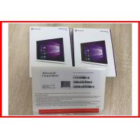 Wholesale Windows 10 Pro OEMbox 32bit 64bit OEM COA sticker with DVD no language limition from china suppliers