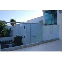 Wholesale Frameless Tempered Glass Railing with U Shoe Channel for Terrace from china suppliers