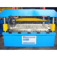Wholesale 5.5KW Corrugated Roof Panel Roll Forming Machine 0.3mm - 0.8mm thickness from china suppliers