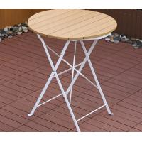 Wholesale Small Coffee / Dining / Garden / Poolside Foldable Plastic-wood Table Patio / Outdoor Wholesale from china suppliers