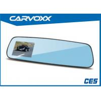 Wholesale High Definition Dual Camera Car Rearview Mirror DVR Video Recorder from china suppliers