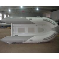 Wholesale Deep V Aluminum RIB Boat PVC Inflatable Boats 6 Person With Foot pump from china suppliers