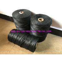 Wholesale High Performance Filling Splityarn PP Yarn Black Color 2.3 - 3.8 G / D Tenacity from china suppliers