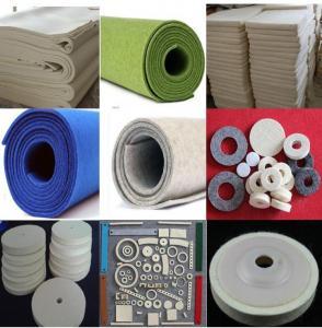 Wholesale 100% wool hard felt  buffing wheel felt polishing wheels and felt pads 150mm from china suppliers