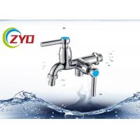 Wholesale Polished Finish Polo Water Taps , 5 - 10kg Water Pressure Washing Machine Tap Set from china suppliers