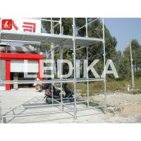 Buy cheap Scaffold Tower Layer Truss Plastering Working Bench Outdoor Event Truss With Wheels from wholesalers