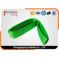 Wholesale Light Weight Polyester Endless Webbing Sling Industrial Double Ply Portable Sling from china suppliers