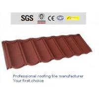 Wholesale sand metal roofing shingle for villa from china suppliers