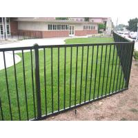 Wholesale Aluminum Flat Railing Fence Panel 2 rail from china suppliers