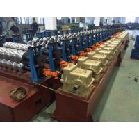 Buy cheap 24 Station Steel Silo Corrugated Sheet Cold Roll Forming Equipment PLC Control from wholesalers