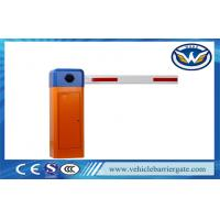 Wholesale Automatic Driveway Barrier Gates / Car Parking Boom Barrier Gate IP44 Grade from china suppliers