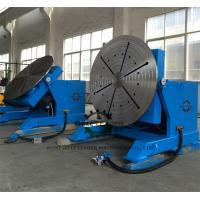 Wholesale 2 Ton Tube Table Top Welding Positioners , Tiltable Rotary Table For Welding from china suppliers