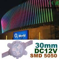 Wholesale 30mm DC12V RGB LED Pixel Module Full Color For Building Decoration from china suppliers