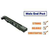 Wholesale Bailey Steel Bridge Component End Post , Easy Install Suspension Bridge Components from china suppliers