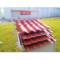 Wholesale ASA PVC Corrosion prevention trapezoidal tile roof tile making machine/plastic roof coveri from china suppliers