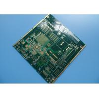Wholesale 8 Layer Via In Pad PCB Immersion Gold 1.6mm Green Mask In GPRS Navigation from china suppliers