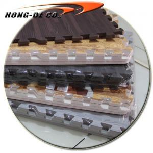 Buy cheap Non-toxic Soft Wood Floor Tiles including Cherry,Black,Grey,D.Oak & L.oak wood grain from wholesalers