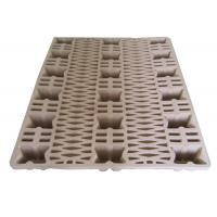 Wholesale Eco - Friendly Waste Paper Pulp Pallet Molded Single Faced Style from china suppliers