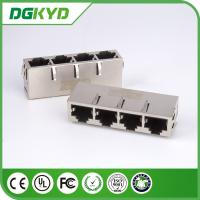 Wholesale 1000M 1 * 4 four Port Transformer 10 Pin Rj45 Connector for Net Bridge applications from china suppliers