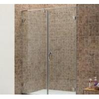 Wholesale Simple Hinge Glass Shower Door from china suppliers