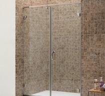 Buy cheap Simple Hinge Glass Shower Door from wholesalers