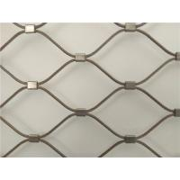 Wholesale Flexible stainless steel cable mesh/Decorative metal wire rope mesh from china suppliers