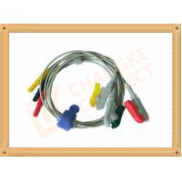 Wholesale 0.6m ECG Patient Cable Lead Wires Copper Conductor Material , Din Style from china suppliers