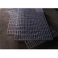Quality Hot Dip Galvanized Steel Grating 300 - 1000mm Width 300 - 6000mm Length for sale