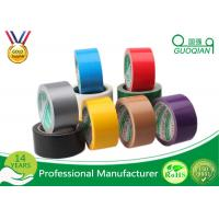 Wholesale Acrylic Adhesive Single Sided Cloth Duct Tape / Tissue Packing Narrow Duct Tape For Carpet Fixed from china suppliers