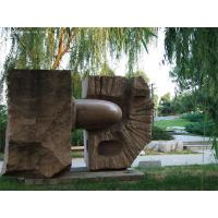 Wholesale Red Granite sculpture in park from china suppliers
