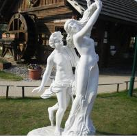 Buy cheap marble statue, Apollo and Daphne mable sculpture,China stone carving Sculpture supplier from wholesalers