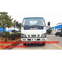 Wholesale Factory sale best price ISUZU 600P 120hp diesel 5,000Liters cistern truck, 2017s new ISUZU brand 4*2 LHD 5m3 water tank from china suppliers