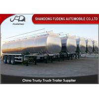 Wholesale 48CBM Tri - Axle Fuel Tanker Semi Trailer  6 Double Brake Chamber from china suppliers