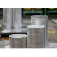 Wholesale 1.0mm 6082 T6 Aluminum Sheet Circle , Cooking Pots Hard Aluminum Round Disc from china suppliers