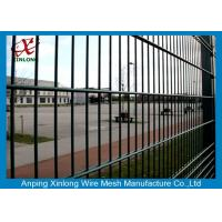 Wholesale Electric Gal Double Wire Fence For High Security Area Square Hole Shape from china suppliers