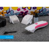 Wholesale DC Motor Small Pet Hair Clipper , Cord / Cordless Rechargeable Pet Clipper from china suppliers