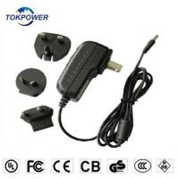 Wholesale UK eu au us interchangeable plug adapter 12v 3a regulated ac dc adaptor from china suppliers