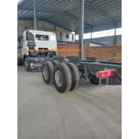 Wholesale Dropside Cargo Commercial Vehicles Truck Chassis Lhd 6x4 With Hook And Doube Fuel Tank from china suppliers