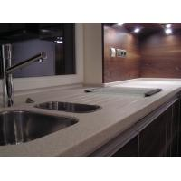 Wholesale Modern Design Pure Acrylic Solid Surface Red Bathroom Cabinets from china suppliers