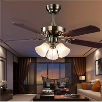 Wholesale 2015 Crystal Ceiling Fan lron ventilador de teto com cristais Modern Fan Lighting American Style Home Lamp Free Shipping from china suppliers