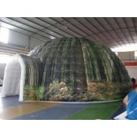 Wholesale Outside Airtight Printed Camping Inflatable Tent With UV - Resistance from china suppliers